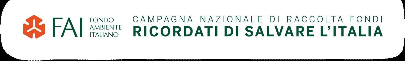 FAI Fondo Ambiente Italiano - Campagna nazionale di raccolta fondi - Ricordati di salvare l'Italia